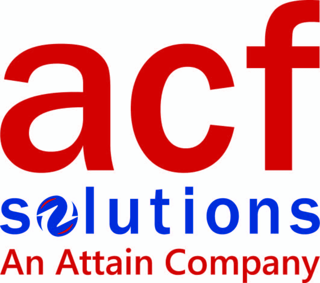 ACF Solutions, An Attain Company logo